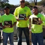 3 winners + 2instructors