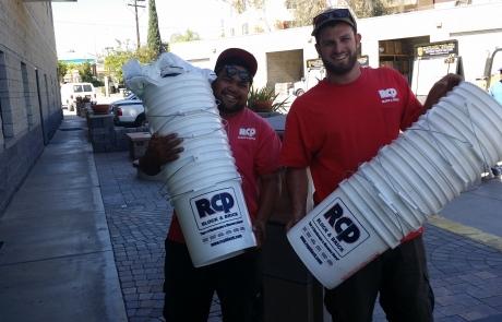 Top Notch Trowel award buckets