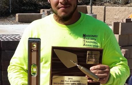 Miguel Gonzalez 3rd Year Winner