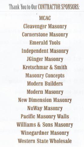 Contractor Sponsors