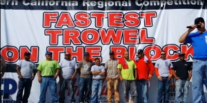 Fastest Trowel on the Block lineup