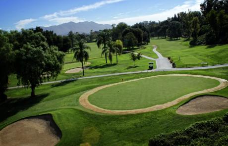Victoria Club Golf Course Sky View